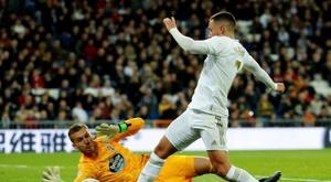 Le Celta frustre le retour d'Eden Hazard. EFE