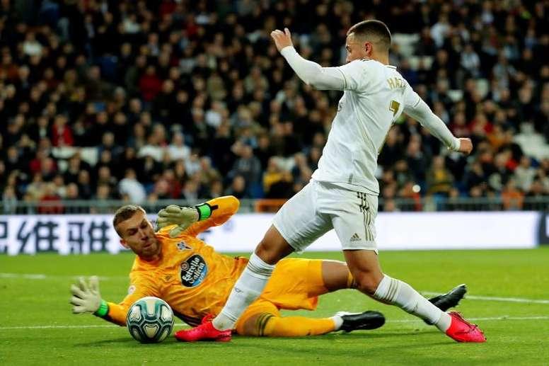 El Madrid tiene un balance de diez penaltis a favor y dos en contra esta temporada. EFE/Archivo