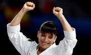 La karateca española Sandra Sánchez, tras la prueba de Kata femenina. EFE/Javier López/Archivo
