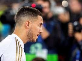 Araujo a été impressionné par Eden Hazard. EFE