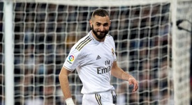 Karim Benzema has not had his shooting boots on in 2020. EFE