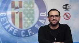 Bordalás bromeó al respecto de las críticas recibidas los últimos días. EFE/Archivo