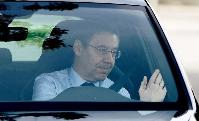Bartomeu faces yet another problem at Barca. EFE