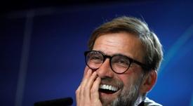 Klopp respondió a un niño fan del United de manera magistral. EFE
