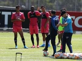 Ramírez pidió ser fieles a la identidad del equipo. EFE