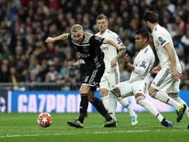 Le Real Madrid fait une croix sur Van de Beek. EFE