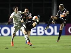 El equipo brasileño defiende el 1-0 del partido de ida. EFE
