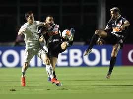 Vasco pasa con lo justo, América Mineiro mata en dos minutos. EFE/Marcelo Sayao/Archivo