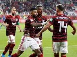 Prováveis escalações de Independiente del Valle e Flamengo. EFE