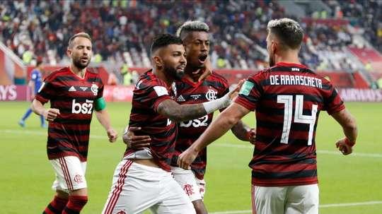Flamengo quiere seguir acumulando títulos en Sudamérica. EFE
