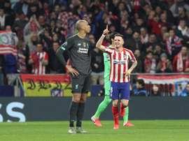 Saúl é o novo desejo do United para a temporada que vem. EFE