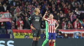 Man Utd are still interested in Saul. EFE