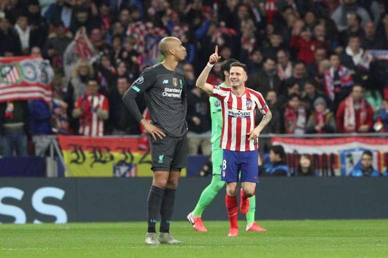 Saúl, titular salvo sorpresa ante el Barça. EFE/Archivo