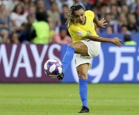 Vuelve la eterna Marta a una lista de Brasil. EFE/Srdjan Suki/Archivo