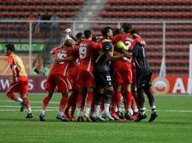La Calera resiste ante Fluminense y sigue vivo en la Sudamericana. EFE