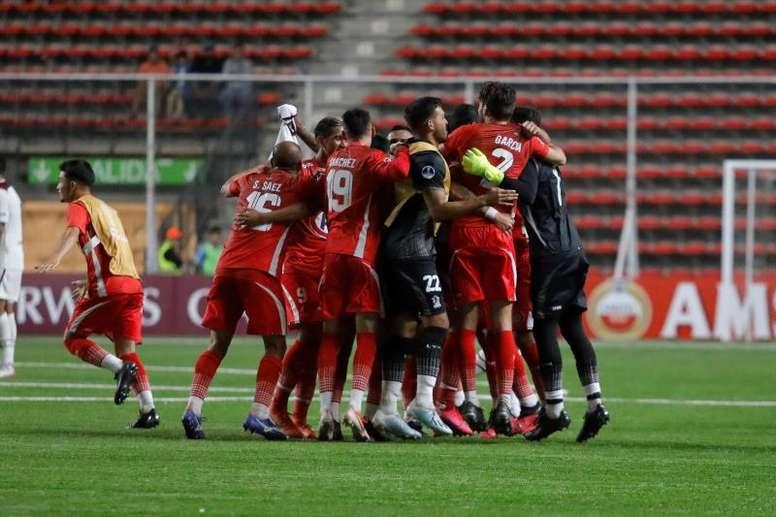 Unión La Calera sumó su cuarto triunfo en cinco jornadas. EFE/Leandro Torchio