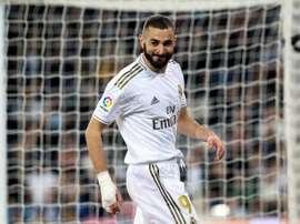 Benzema prolonge jusqu'en 2022 avec le Real Madrid. EFE