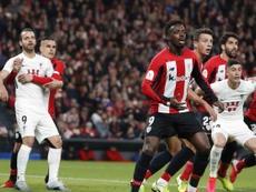 El Athletic tendrá apoyo en Granada. EFE
