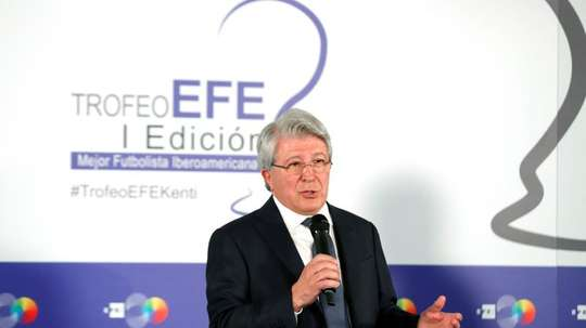 Cerezo spoke about Atletico's victory over Liverpool on Tuesday. EFE