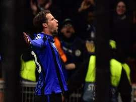 El Atalanta golea al Valencia. EFE