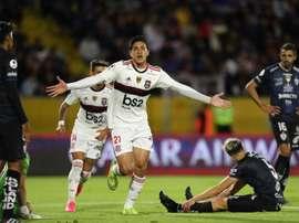 Prováveis escalações de Flamengo e Independiente del Valle. EFE