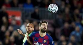 Rivaldo reprova a contratação de Braithwaite pelo Barça. EFE