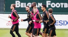 Belgium are top. EFE