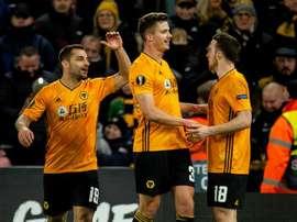 Wolverhampton gagne la finale du tournoi de FIFA 20. EFE