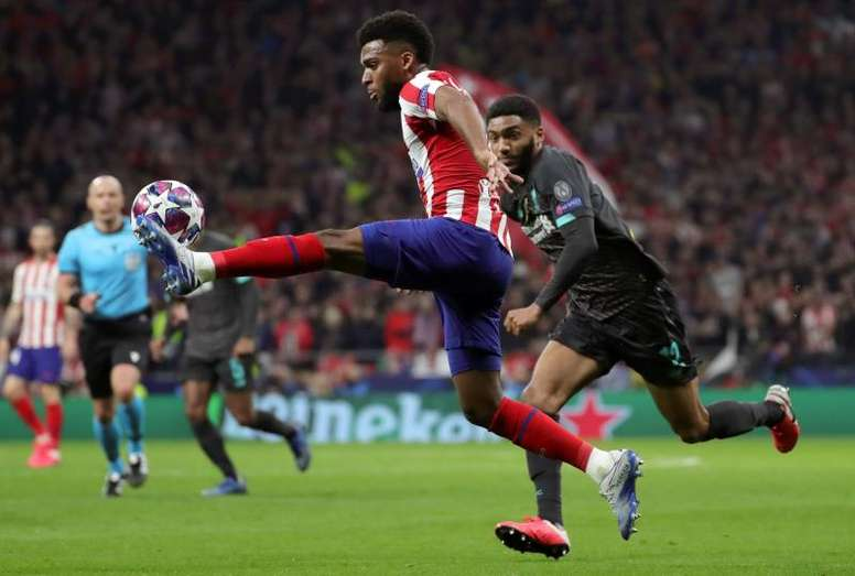 Simeone will give Lemar another chance at Atletico. EFE