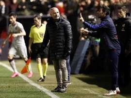 El Levante entrenará el mismo día del partido ante el Madrid. EFE