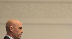 Rubiales habló sobre la candidatura de Casillas. EFE/Archivo
