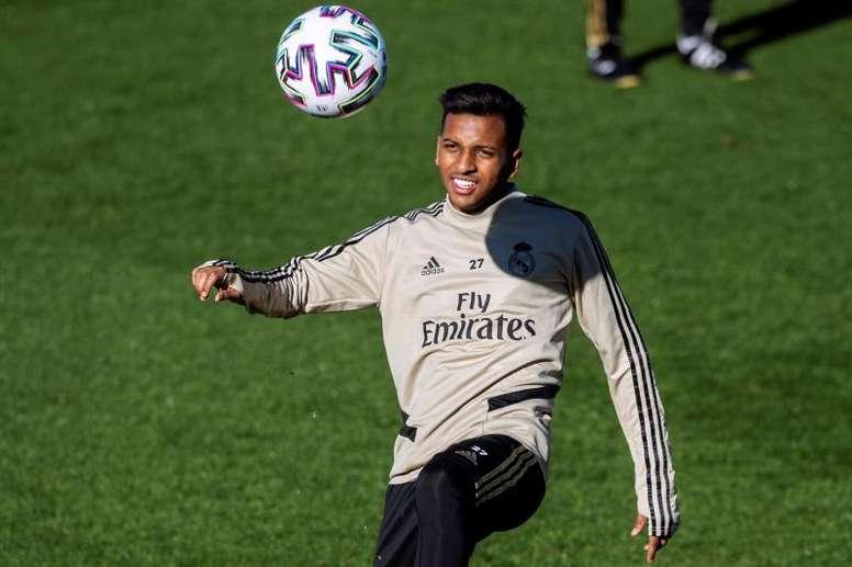 Rodrygo rassure les supporters du Real Madrid. EFE