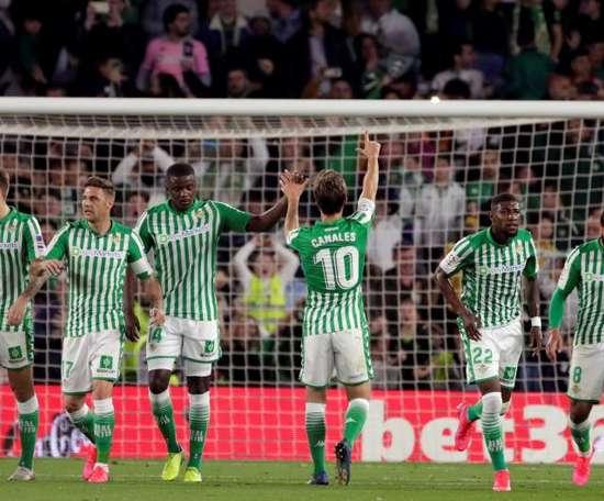 Canales, Joel, Juanmi et Pedraza ont passé le test mais ne se sont pas entraînés. EFE