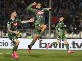 El Nápoles venció. EFE
