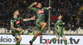 Brescia-Napoli 1-2: Insigne e Fabian Ruiz ribaltano le Rondinelle. EFE
