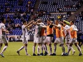 Puebla announced no positives. EFE