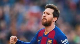 Messi hizo el séptimo póker de su carrera. EFE
