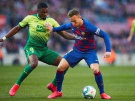 Le Barça ne poussera pas Arthur vers la sortie. EFE