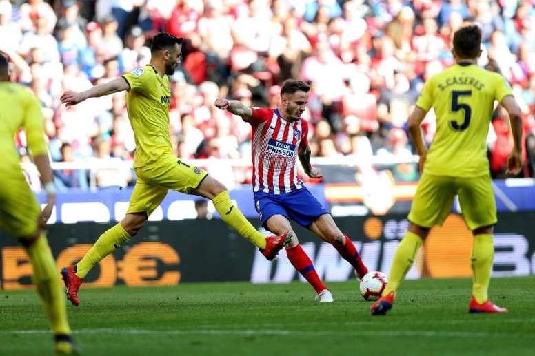 El Atlético, a continuar con una buena racha ante los suyos. EFE