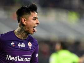 Fiorentina y Milan empataron. EFE/EPA