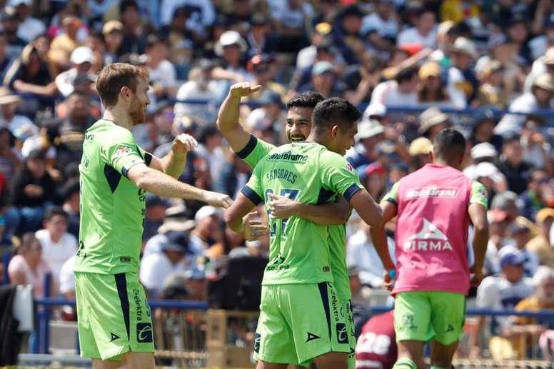 Trasladan al equipo 800 kilómetros y se lo dicen a los jugadores ¡por Zoom! EFE/Jorge Núñez