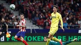 El Atlético se metió en zona de Champions. EFE
