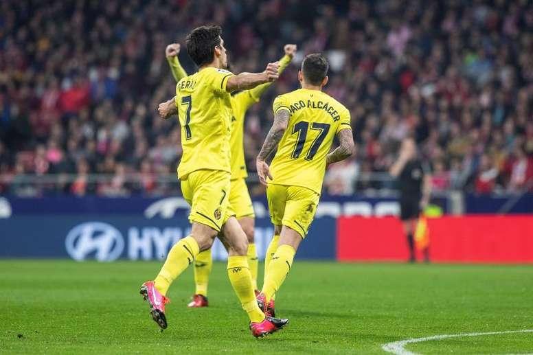 El Villarreal alineó a once españoles por primera vez en su historia. EFE/Rodrigo Jiménez
