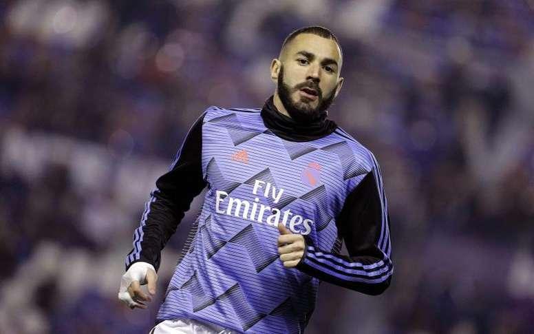 Benzema vuelve a la Champions. EFE