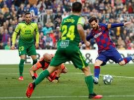 El Barça, a seguir la racha en Champions. EFE