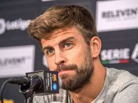 Pique got Twitter talking. EFE