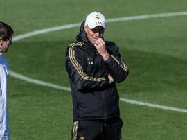 Zidane quiere evitar una semana negra como la del pasado curso. EFE/Rodrigo Jiménez