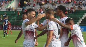 Monagas logró un triunfo muy importante. EFE/Juan Torrejón/Archivo