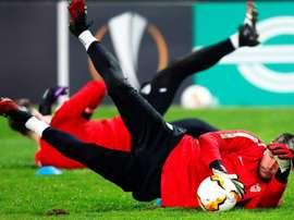 Vaclík, lesionado en Getafe, es duda para el choque ante el Cluj. EFE