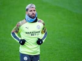 Agüero apeló a la experiencia para eliminar al Madrid. EFE